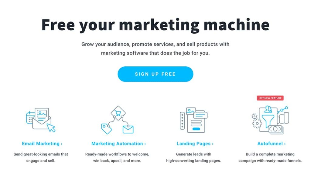 GetResponse email marketing platform